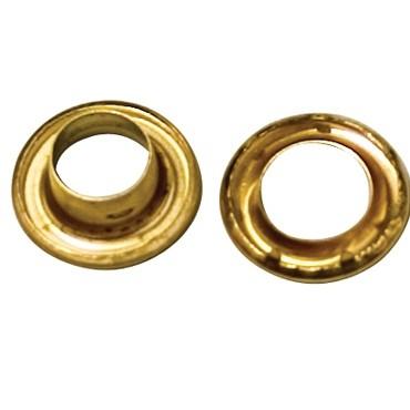 No 4 Brass Grommets - TA