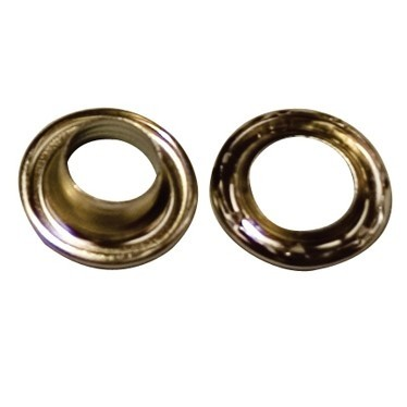 No 4 Nickel Plated Grommets - TA